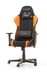 Gaming Chair DXRacer Formula GC-F11-NO, Black/Orange, User max loadt up to 150kg / height 145-185cm