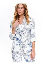 Пиджак TOP SECRET Белый с принтом szk0636