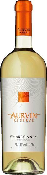 Вино Резерва Шардоне Аурвин, белое сухое, 0,75 л