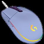 Logitech G102 Lightsync, RGB, Lilac USB
