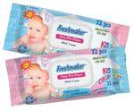 Салфетки влажные Freshmaker KISS Collection Baby 72
