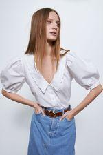 Блуза ZARA Белый 7200/024/250