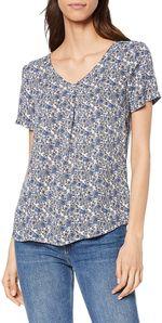 Блуза TOM TAILOR Принт цветочек 1008287 16112