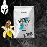 Изолят сывороточного белка - Impact Whey Isolate - Шоколад и бананы  - 1 KG