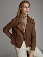 Куртка Massimo Dutti Коричневый 4756/756/700