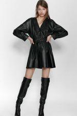 Платье ZARA Чёрный 7901/100/800