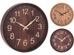 Часы настенные круглые 30cm, H4cm