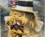 Девочка с мишкой, код GB70176