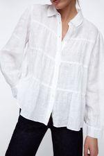 Блуза ZARA Белый 4786/046/712
