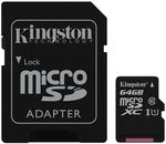 {u'ru': u'\u0424\u043b\u044d\u0448 \u043a\u0430\u0440\u0442\u0430 \u043f\u0430\u043c\u044f\u0442\u0438 Kingston SDCS/64GB, microSD Class10 UHS-I + SD adapter', u'ro': u'Card de memorie flash Kingston SDCS/64GB, microSD Class10 UHS-I + SD adapter'}