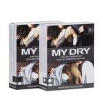 MYDRY - Вкладыши в одежду для защиты от пота - Чёрные, 14 шт