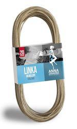 Веревка бельевая металлизированная 20м Anna Zaradna