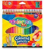 Цветные карандаши 24 шт.+ точилка Colorino