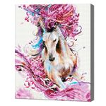 Грациозная лошадь, 40x50 см, алмазная мозаика Артукул: QA202813