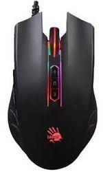 Игровая мышь Bloody Q81 Curve, оптическая, 500-3200 dpi, 8 кнопок, Bbacklight, эргономичная, USB