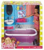Un set de mobilier cu o păpușă Barbie, cod DVX51