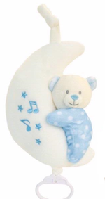 Baby Bear Медвежонок музыкальный на луне 20 см, код 42931