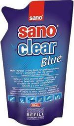 Solutie pentru curatat geamuri (rezerv) Sano Clear Blue 750 ml