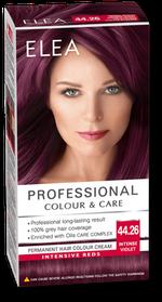 Vopsea p/u păr, SOLVEX Elea, 138 ml., 44.26 - Violet intens