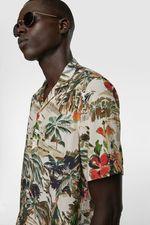 Рубашка ZARA Цветочный принт 3057/307/500.
