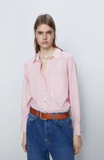 Блуза ZARA Красный с белым 2157/024/061