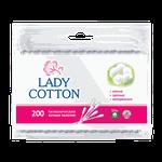 Палочки ватные Lady Cotton, 200 шт.