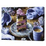 GX34318 Картина по номерамСиреневый десерт