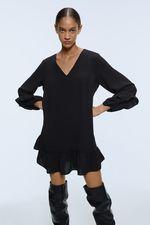 Платье ZARA Чёрный 3666/193/800