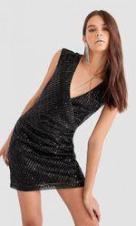 Платье Stradivarius Чёрный 6322/816/001