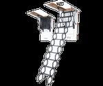 Лестница чердачная Metalic LST 280 Fakro 60 x 120 см