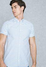 Рубашка JACK&JONES Белый в полоску 12125425