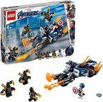 LEGO Avengers CaptainAmerica:Outriders арт. 76123