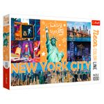 "Puzzle ""1000 Neon Color Line"" - Neon city, cod 43102"