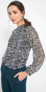 Блуза ORSAY Белый/черный 690129 orsay