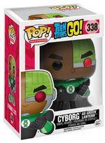 POP! Vinyl Teen titans Go! Cyborg Green Lantern