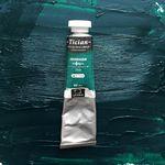 Масляная краска Tician, Зеленая