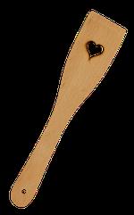 Spatula lemn decupata 29 cm