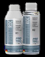 Radiator Oil Cleaner 2-components PRO TEC Curatator de racire cu ulei de motor