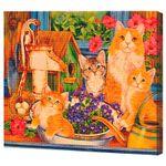 Кошачья семья, код GA74140