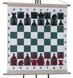 Шахматная доска демонстрационная с фигурами 66х66 см DD04A (5236) magnet