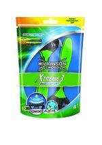Бритвы для мужчин Xtreme3 Duo Comfort, 4 шт, 3 лезвия