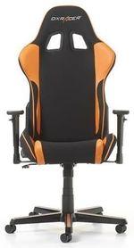 Игровое кресло DXRacer Formula GC-F11-NO, черный / оранжевый,