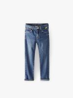 Pantaloni ZARA Denim/Albastru 4676/668/400