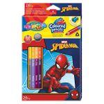 Карандаши цветные двусторонние - Colorino Disney Spiderman