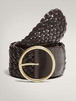 Аксессуар Massimo Dutti Тёмно-коричневый 6113/609/700