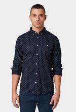 Рубашка Tom Tailor Темно синий tom tailor 1013896