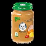 Пюре Gerber рагу телятина-овощи, с 8 месяцев, 190г