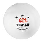 Мяч для настольного тенниса Tibhar 3*** 40+ SYNTT NG ITTF aproved (876) (под заказ)