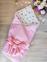 Одеялко 100*80 см Pink Flowers