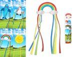 Змей воздушный детский (радуга,солнце,акула,единорог) 60X40c